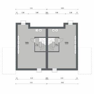 Abbildung Grundriss Haustyp Futura KG