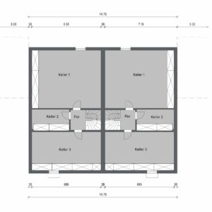 Abbildung Grundriss Haustyp Prima KG