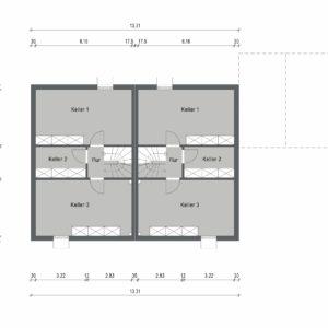 Abbildung Grundriss Haustyp Media L KG