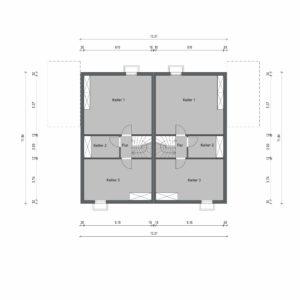 Abbildung Grundriss Haustyp Optima L KG